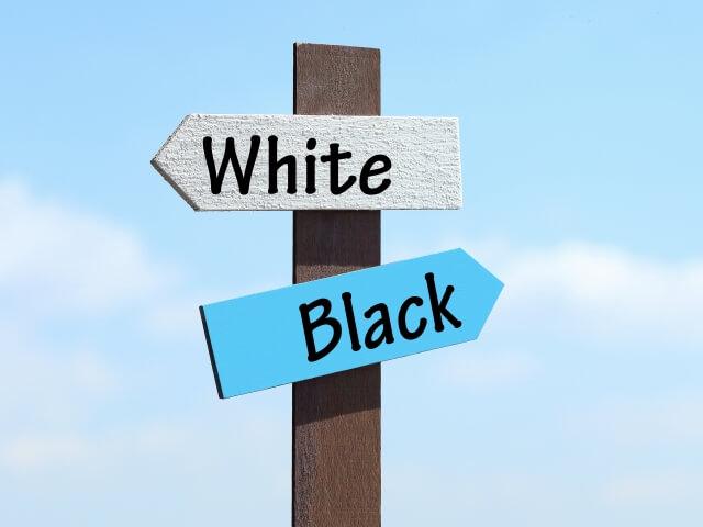 ホワイト企業ブラック企業比較